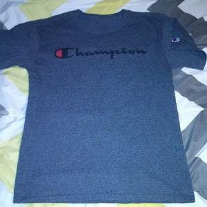 Drak gray Champion t-shirt
